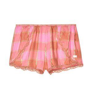 Victoria's Secret Flannel Sleep Short - NWOT
